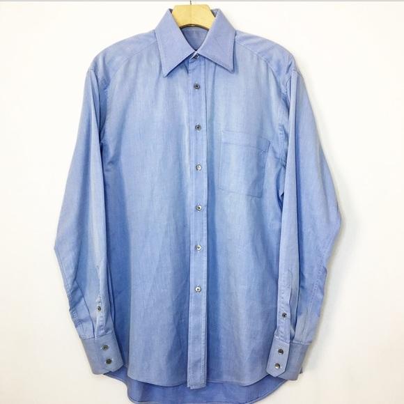 65cb1fd337ca Gucci Shirts | Blue Button Up Dress Shirt | Poshmark